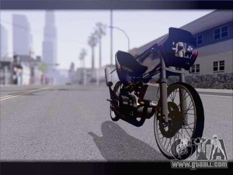 Suzuki Satria FU for GTA San Andreas right view