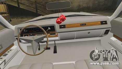 Cadillac Eldorado Coupe 1969 for GTA 4 side view