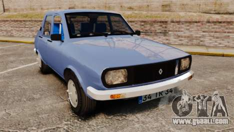 Renault 12 Toros v2.0 for GTA 4