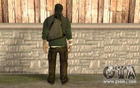 Sam Fisher for GTA San Andreas second screenshot