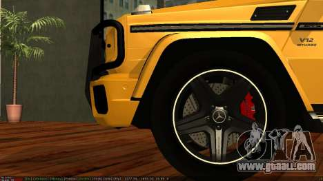 Mercedes-Benz G65 AMG for GTA San Andreas side view