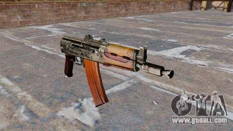 Automatic AKS74U Buttstock for GTA 4