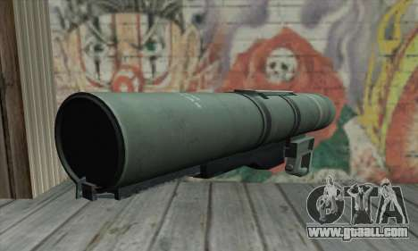 Bazooka for GTA San Andreas second screenshot