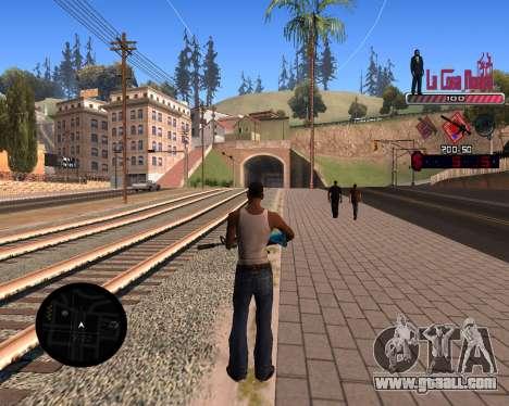 C-HUD LCN for GTA San Andreas