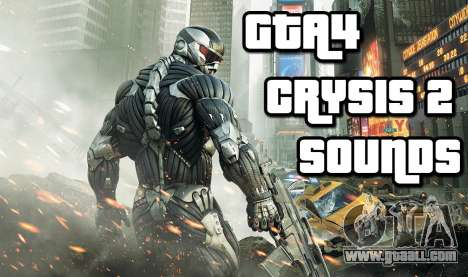Crysis 2 Weapon Sound v 2.0 for GTA 4