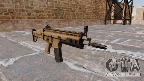 Automatic FN SCAR-L for GTA 4