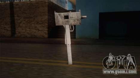 Uzi of Max Payne for GTA San Andreas third screenshot