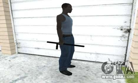 Telescopic baton for GTA San Andreas third screenshot