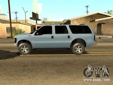 Ford Excursion for GTA San Andreas left view