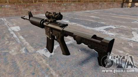 Automatic carbine M4A1 for GTA 4 second screenshot
