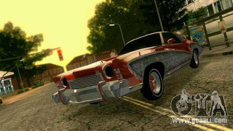 Chevy Monte Carlo Lowrider for GTA Vice City