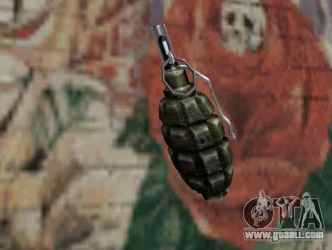 Pomegranate of S.T.A.L.K.E.R. for GTA San Andreas second screenshot