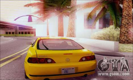 Acura RSX for GTA San Andreas right view