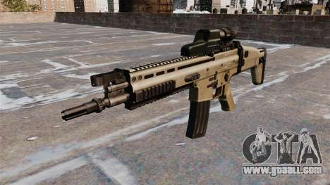 FN SCAR assault rifle for GTA 4