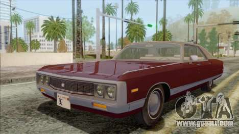 Chrysler New Yorker 4 Door Hardtop 1971 for GTA San Andreas