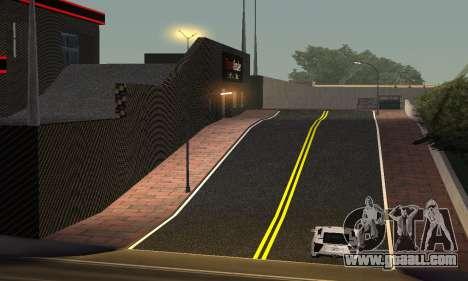 New showroom in Dorothi for GTA San Andreas third screenshot