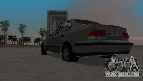 Samand for GTA Vice City right view
