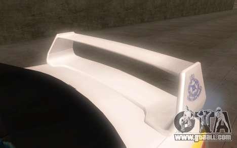 Subaru Impreza 2006 WRX STi Police Malaysian for GTA San Andreas right view