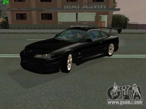 Nissan Silvia S15 Tuning for GTA San Andreas left view