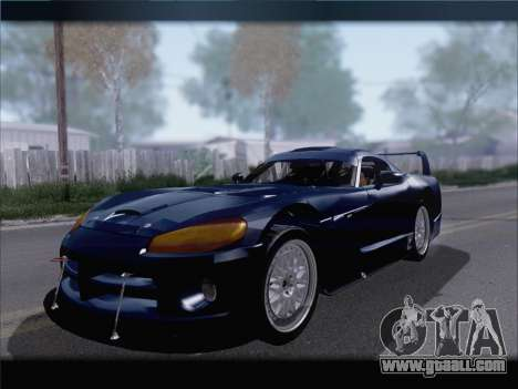 Dodge Viper Competition Coupe for GTA San Andreas left view