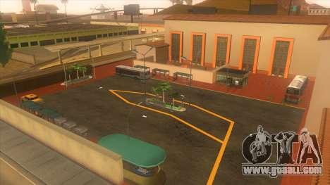 Bus station, Los Santos for GTA San Andreas