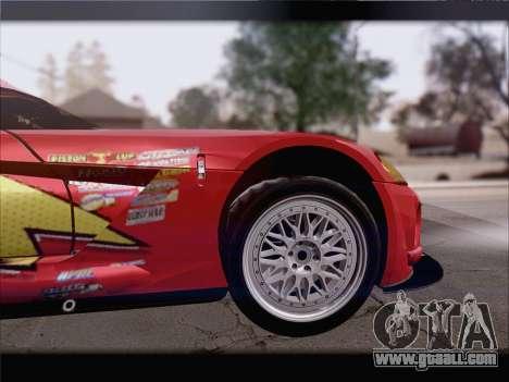 Dodge Viper Competition Coupe for GTA San Andreas interior
