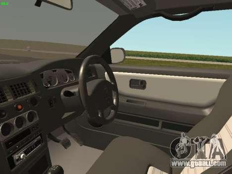 Nissan Skyline R33 GT-R for GTA San Andreas back view