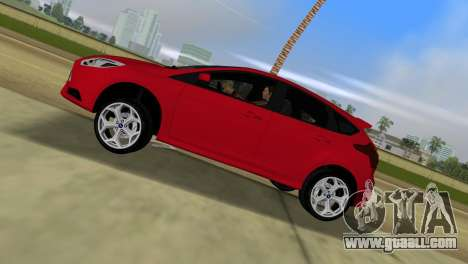 Ford Focus ST 2013 for GTA Vice City back left view