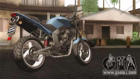 Ducati FRC900 v3 for GTA San Andreas left view