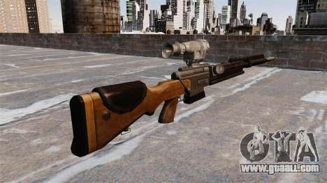 The FR F2 sniper rifle for GTA 4 second screenshot