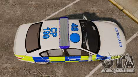 BMW M5 E60 City Of London Police [ELS] for GTA 4 right view