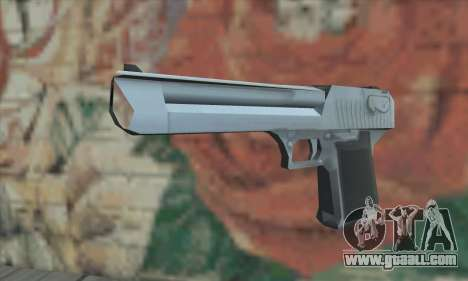 Desert Eagle from Saints Row 2 for GTA San Andreas