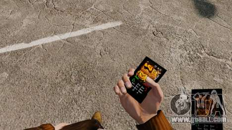 Halloween theme for your phone for GTA 4