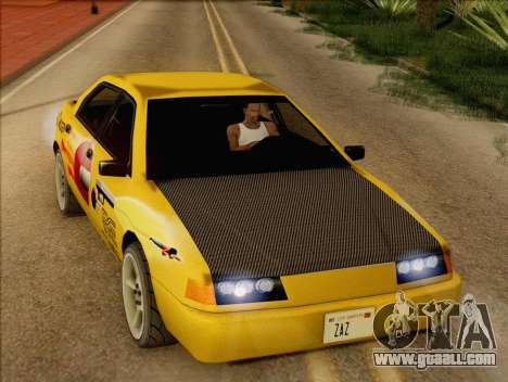 Stratum Sedan Sport for GTA San Andreas back view