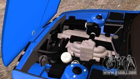 BMW 535i E34 Mafia Style for GTA San Andreas upper view