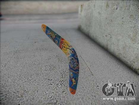 Boomerang for GTA San Andreas second screenshot