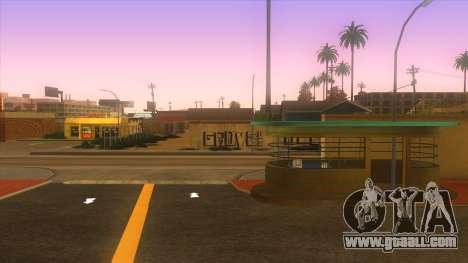Bus station, Los Santos for GTA San Andreas forth screenshot