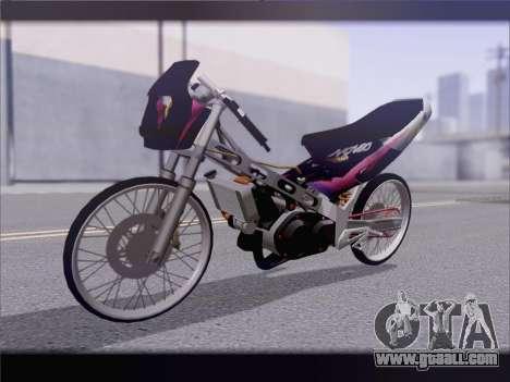 Suzuki Satria FU for GTA San Andreas