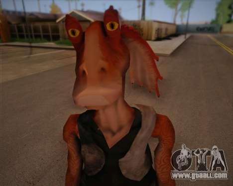 Jar Jar Binks for GTA San Andreas third screenshot
