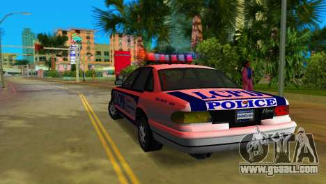 GTA IV Police Cruiser for GTA Vice City right view