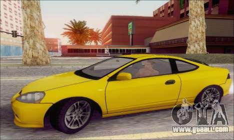 Acura RSX for GTA San Andreas