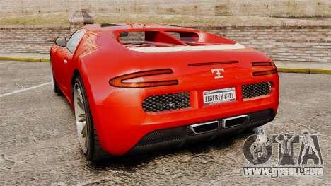 GTA V Truffade Adder for GTA 4 back left view
