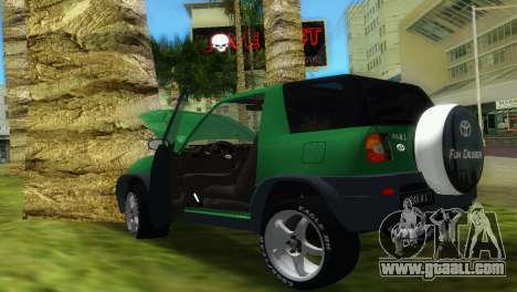 Toyota RAV 4 L 94 Fun Cruiser for GTA Vice City inner view
