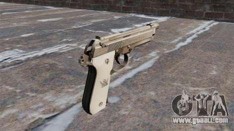 Beretta semi-automatic pistol for GTA 4 second screenshot