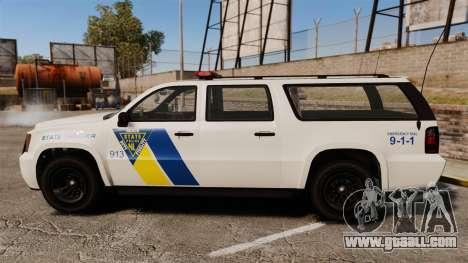 GTA V Declasse Police Ranger LCPD [ELS] for GTA 4 left view