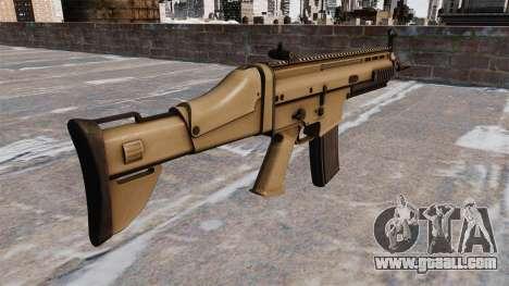 Automatic FN SCAR-L for GTA 4 second screenshot