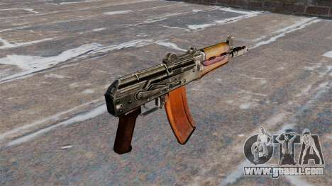 Automatic AKS74U Buttstock for GTA 4 second screenshot