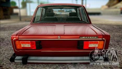 VAZ 21063 for GTA San Andreas upper view
