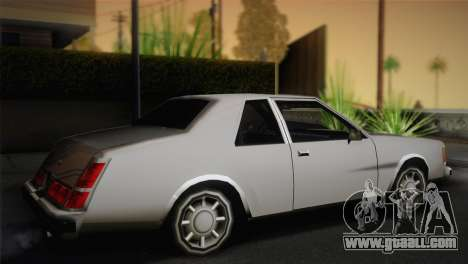 2-door, Washington for GTA San Andreas left view