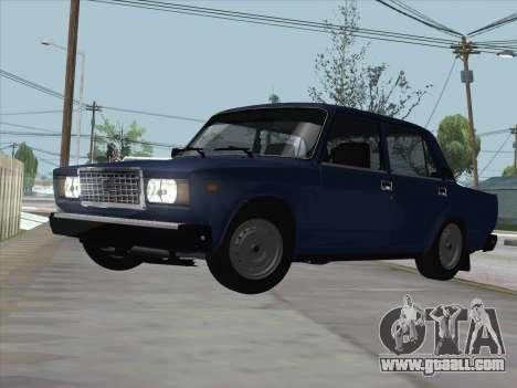 ВАЗ 21074 for GTA San Andreas